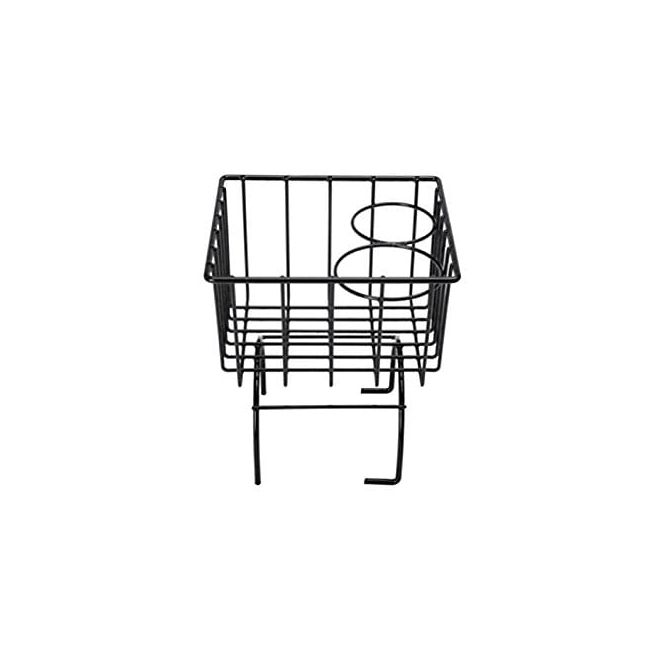 , Black Wire Basket With Cup Holders Fits All VWs | 857195