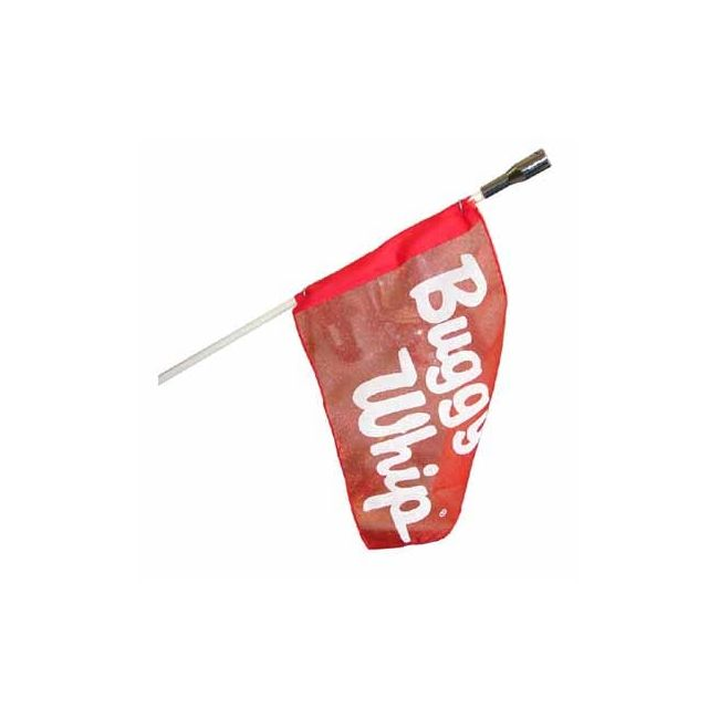 , Buggy Whip 5 Foot With Light Socket and Flag   GHPBW5-L