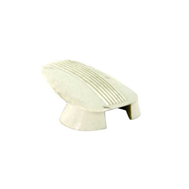 , Coat Hook Covers White Bug 61-67 each | 113857637AW
