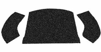 , VW Rear Well Carpet Kits