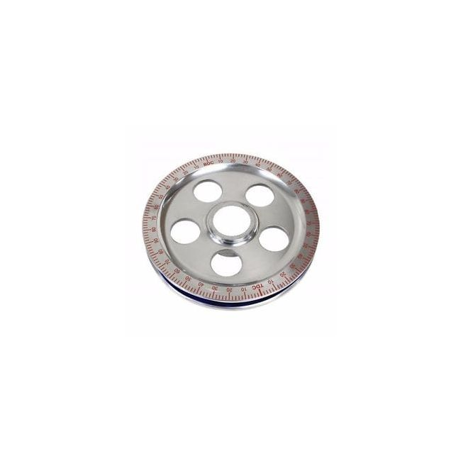 , Crankshaft Pulley Stock Size With Holes Red Degree | 105132
