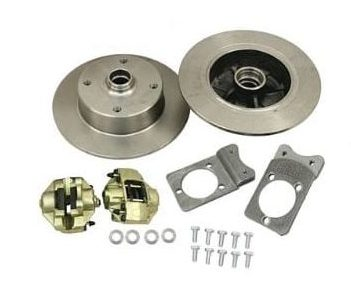 , Disc Brake Kit Bolt-On 4/130 mm 1966-1978 VW Bug | 405153