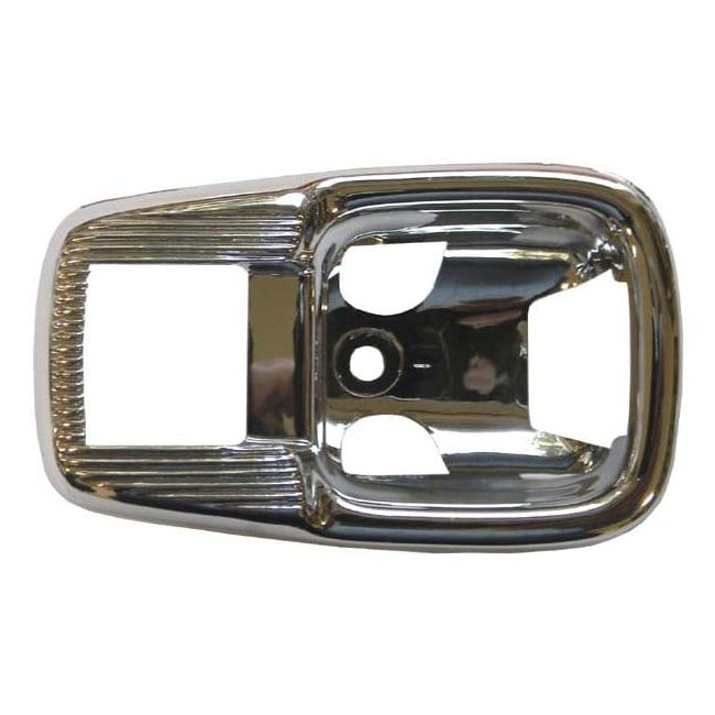 , Door Lever Cover Trim Plate Fits Late Model Air Cooled VW's 1967-1979 Sold Each | 113837239BC