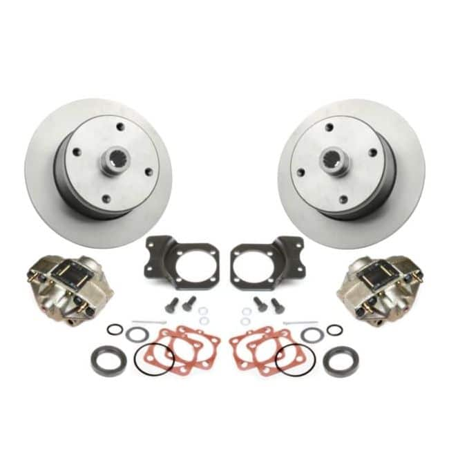 , Dune Buggy Disc Brake Kit Rear 4 Lug Long Axle IRS Fits 1968-1979 | 501144-DB