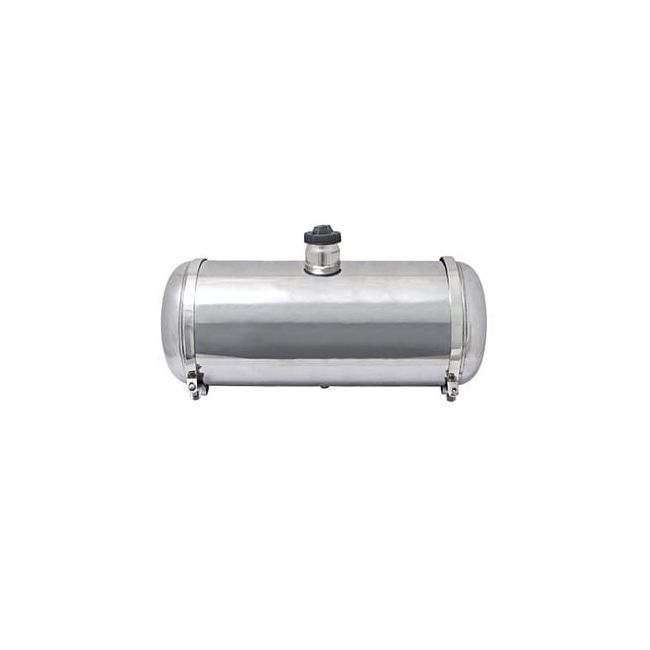 , Dune Buggy Polished Stainless Steel Fuel Tank 10×24 7.7 Gallon Center Fill | 201127CF