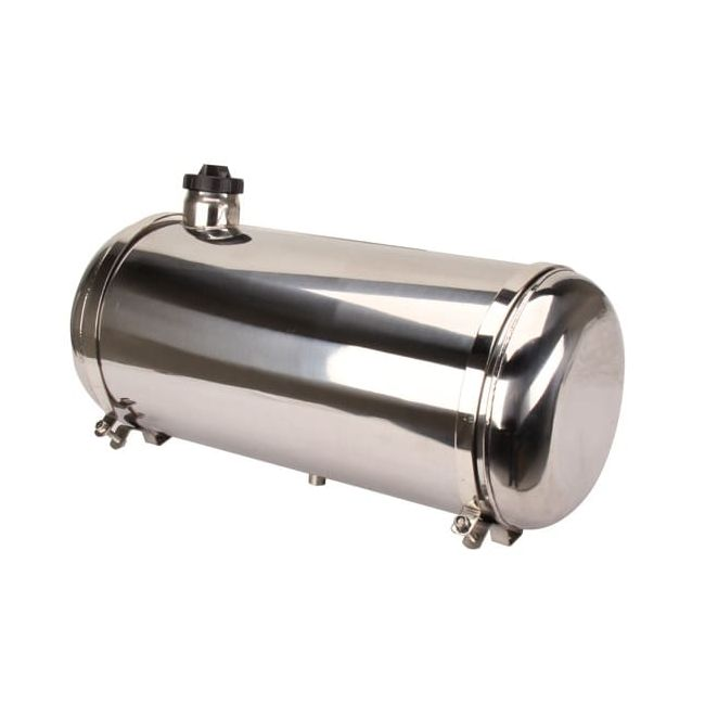 , Dune Buggy Polished Stainless Steel Fuel Tank 10×24 7.7 Gallon | 201127