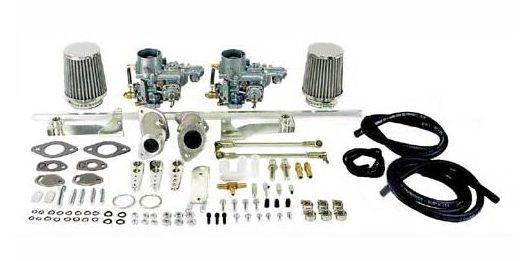 empi dual 34 epc carburetor kit single port type 1 vw bug