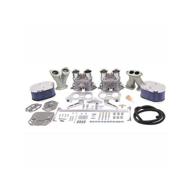 , EMPI Dual 44 Hpmx Kit With Billet Cleaners and Thick Manifolds | 1319DHPMX