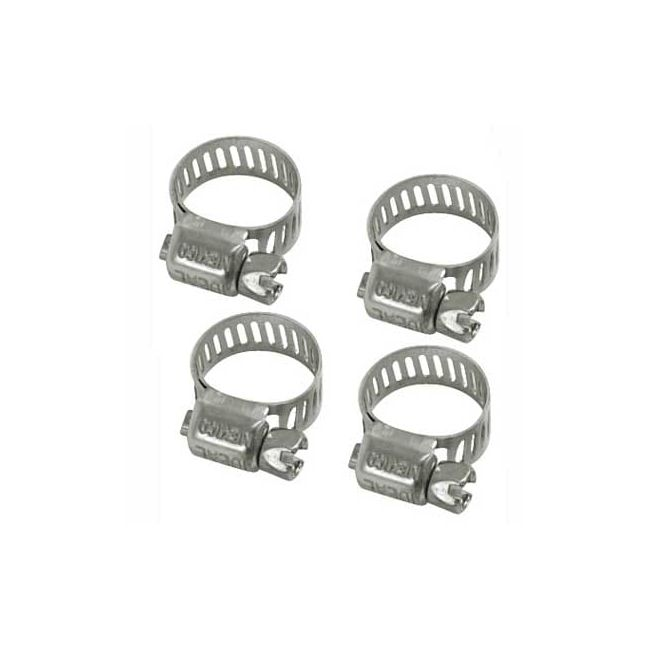, Fuel Fittings Hose Clamps 1/4 to 5/16 inch Set of 4 | 129276C