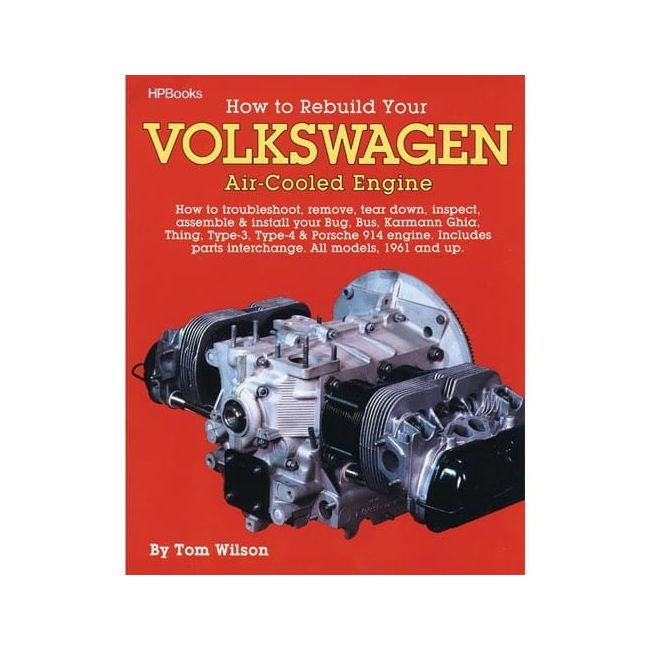 , How To Rebuild Your Type 1 Engine Book Manual   975118