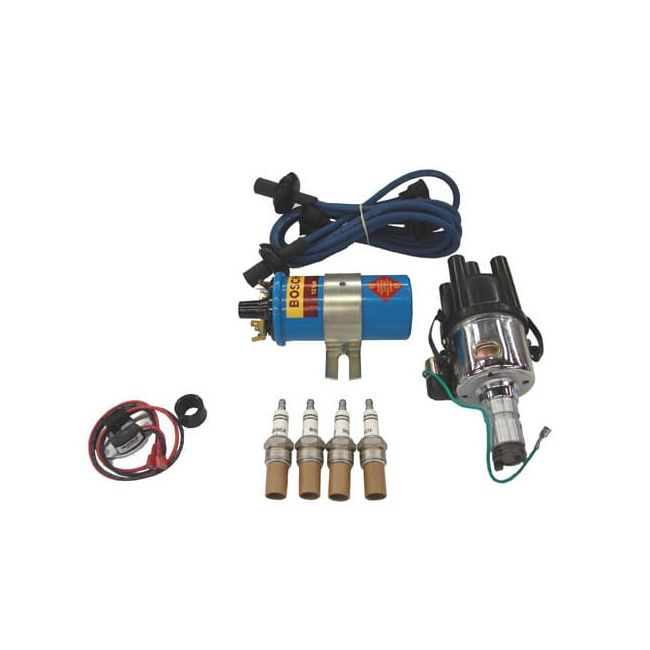 , Ignition Kit Upgrade With Pertronix Ignitor Blue Wires | PKG501BA