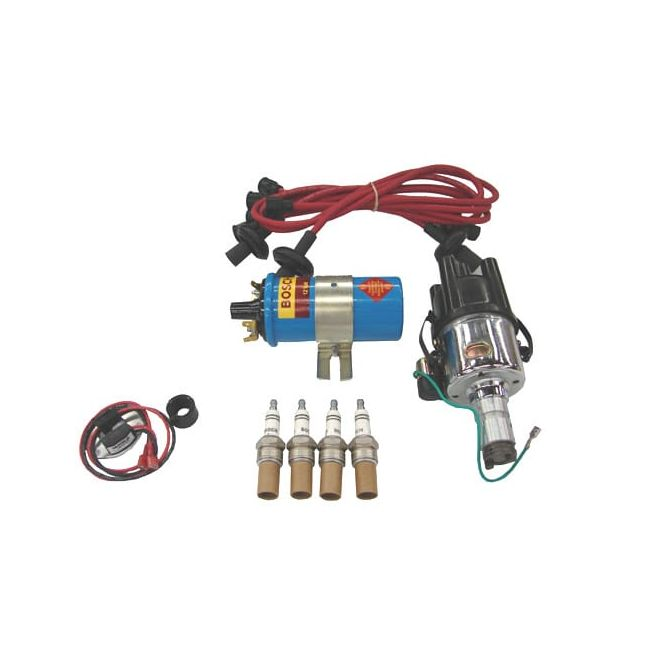 , Ignition Kit Upgrade With Pertronix Ignitor Red Wires | PKG501RA