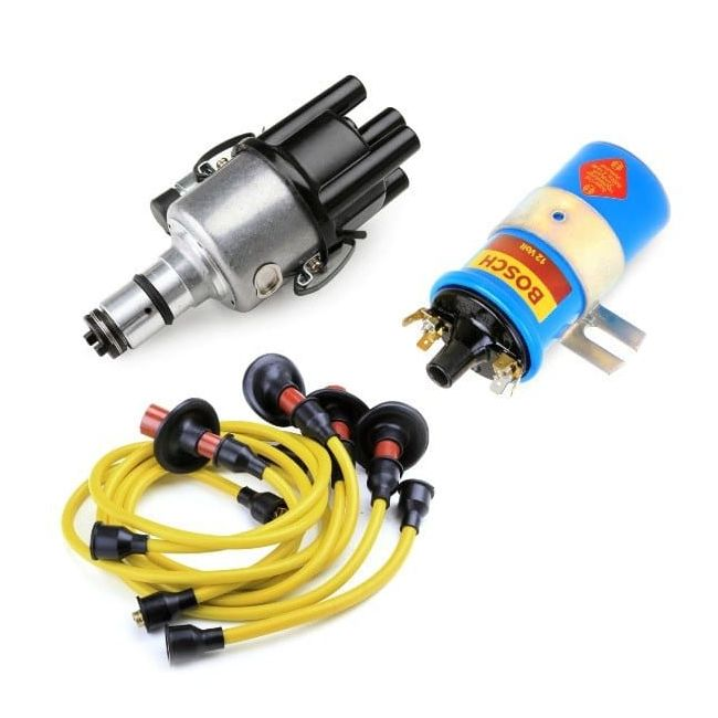 , Ignition Kit Upgrade With Yellow Wires 009 Distributor | PKG501Y