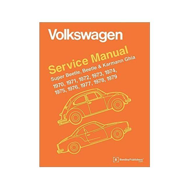 , Robert Bentley Repair Book Manual, Bug And Ghia, 1970 Thru 1979 | 975132