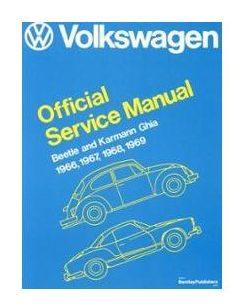, Robert Bentley Repair Book Manual, Bug And Ghia, 66 Thru 69   975130