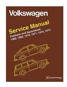 , Robert Bentley Repair Book Manual, T-3, 1968 Thru 1973 | 975134