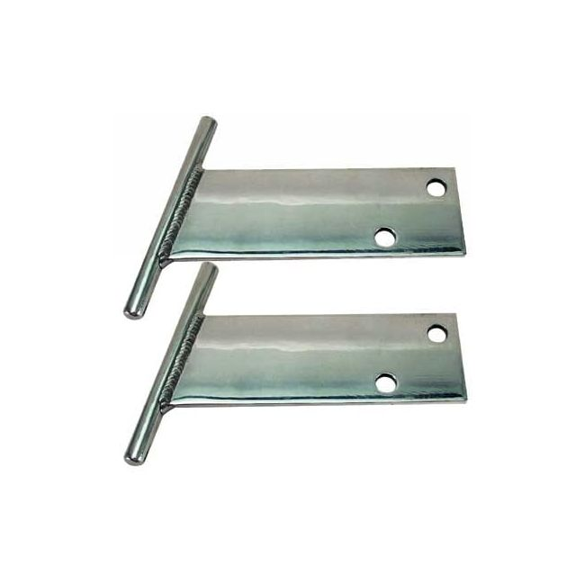 , T Bar Bumpers Chrome Fits Classic VW 1968-1973 Pair | 707132