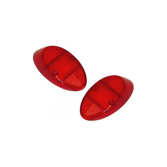 , Tail Light Lens Fits VW Bug Beetle 1962-1967 Left Or Right Red | 111945241D