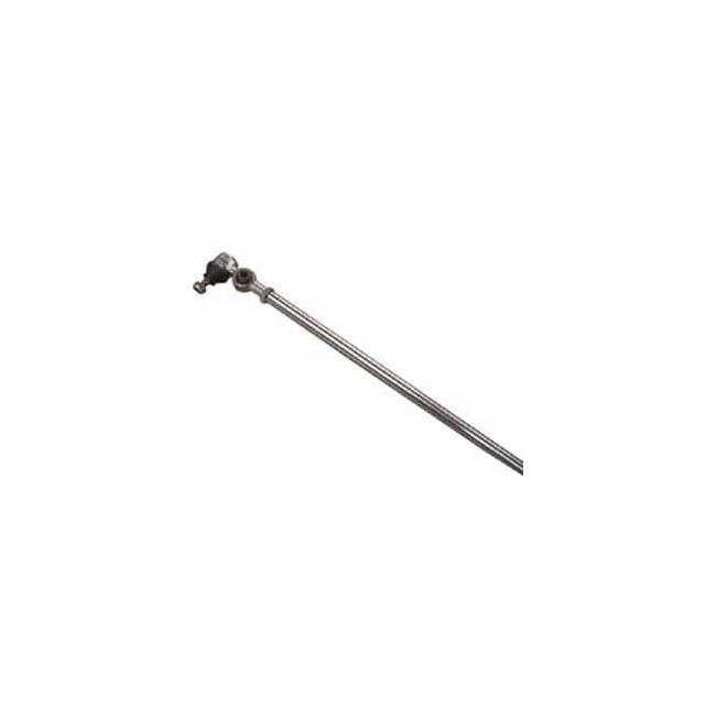 , Tie Rod Chrome Long Early W/Damper VW Bug To 67 | 415115A