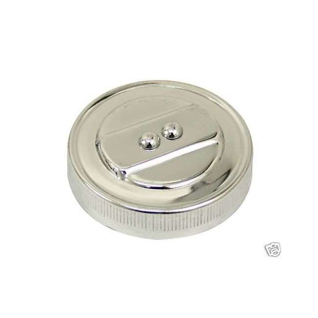 , VW Beetle Chrome Stock Replacement Oil Cap For Air Cooled Engines | 115216