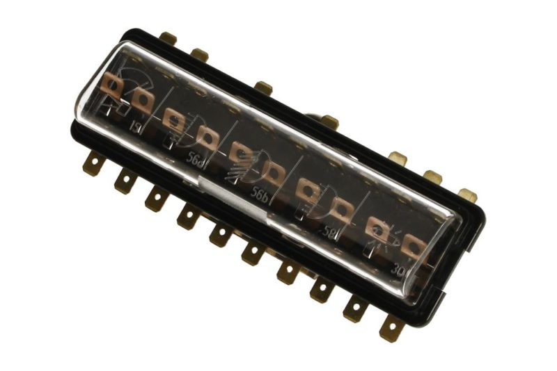 , Fuse Box For 10 Fuses Fits VW Bug 1967-1971 | 111937505F