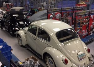 , Lots Of VW Air-Cooled Restorations Going On Here At Chirco